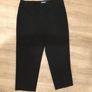 Dockers Black Chino Jeans size 16 short